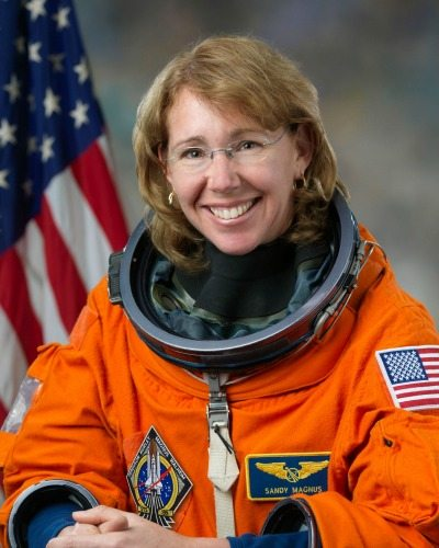 Sandy Magnus, AIAA, STEM Symposium Speaker