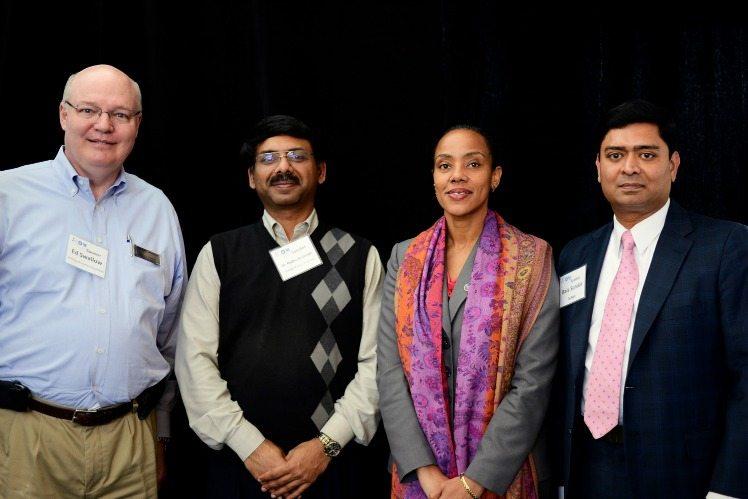 Ed Swallow (Northrop Grumman), Dr. Padhu S. (GMU), (NGA), Bala Sundar (SyApps)