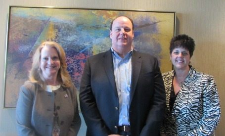 Kay Curling (Salient Federal Solutions), Sid Fuchs (MacB), Eleni A (FCi Federal)