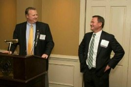 Mark Moore and Scott Brezler at the 2013 SECAF Awards Gala