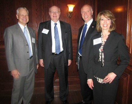 Dale Luddeke (STG, Inc.), Ed Swallow (Northrop Grumman), Don (L-3 Communications), Corrine Gormont (L-3 Communications)