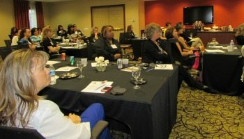 EAs gathered at the Staybridge Suites in Chantilly last week for the Committee's semiannual event.