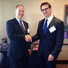 Steve Woolwine (URS) and Steven Gaffney (The Steven Gaffney Company)