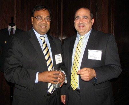 Manish Agarwal (Attain) and Jeff Giangiuli (CALIBRE)