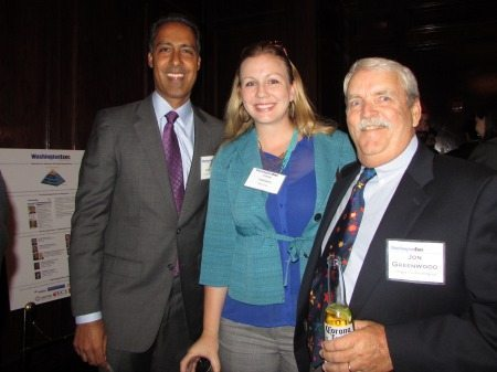 JD Kathuria, Carey Johnson and Jon Greenwood
