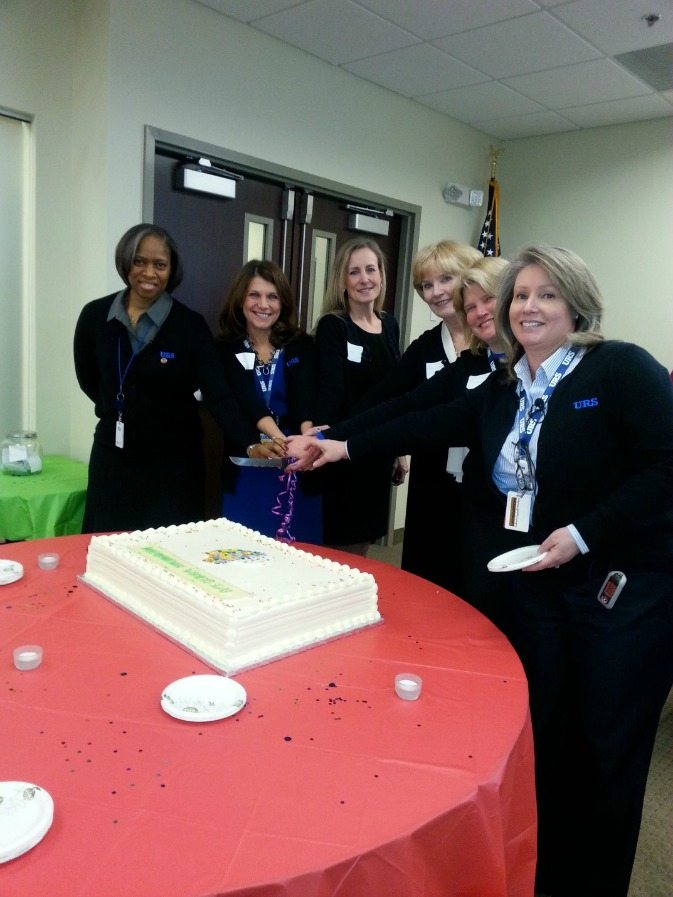 From left to right: Cynthia Crutchfield, Vice President – Mission Support Operations (MSO); Jill Bruning, General Manager and Vice President – Global Security Group (GSG); Janet Turner-Webb, Vice President – Healthcare, Regulatory and Information Technology (HRIT); Lorraine Mathus, Vice President – Proposal Operations; Carol Papillo, Vice President – Business Development; Elizabeth Malone, Vice President  –  Contract Administration (GSG & SEIS).