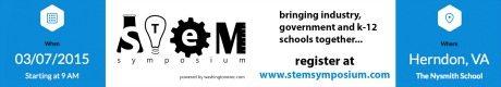 STEM Symposium 2015 BANNER AD