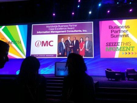 IMC at Insight 2014 in Las Vegas, NV