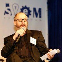 Leidos' Rob Zitz speaking at the 2015 K-12 STEM Symposium