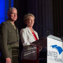From the 2014 Tribute to Military Families Gala. Photo credit United Through Reading