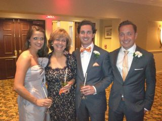 From left, Whitney Carr, Jane Forman, Jon Carr and Andrew Carr