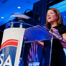 "Letitia ""Tish"" Long speaks at the 3rd Annual INSA Achievement Awards Intellegence and National Security Alliance"