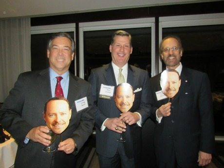 Craig Reed, Mac Curtis and Greg Baroni