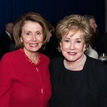 Former House Democratic Leader Nancy Pelosi and The Hon. Elizabeth Dole