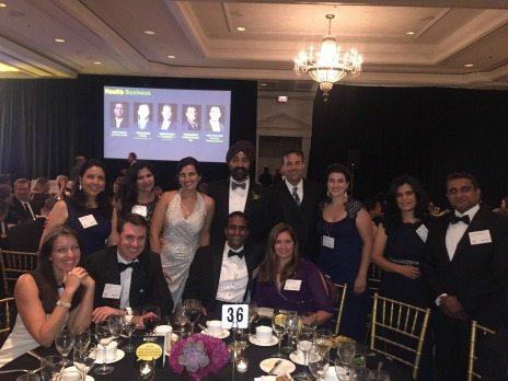 EY Government Services Entrepreneur of the Year 2016 Winner Sonny Kakar and the Sevatec team.