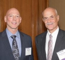Mike Leff, AT&T; Michael Chertoff, Chertoff Group