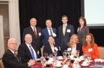The CALIBRE team at the 15th Annual GovCon Awards on Nov. 1