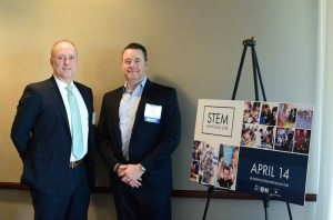 Steve Woolwine, AECOM, and Gordon Foster, ASRC Federal