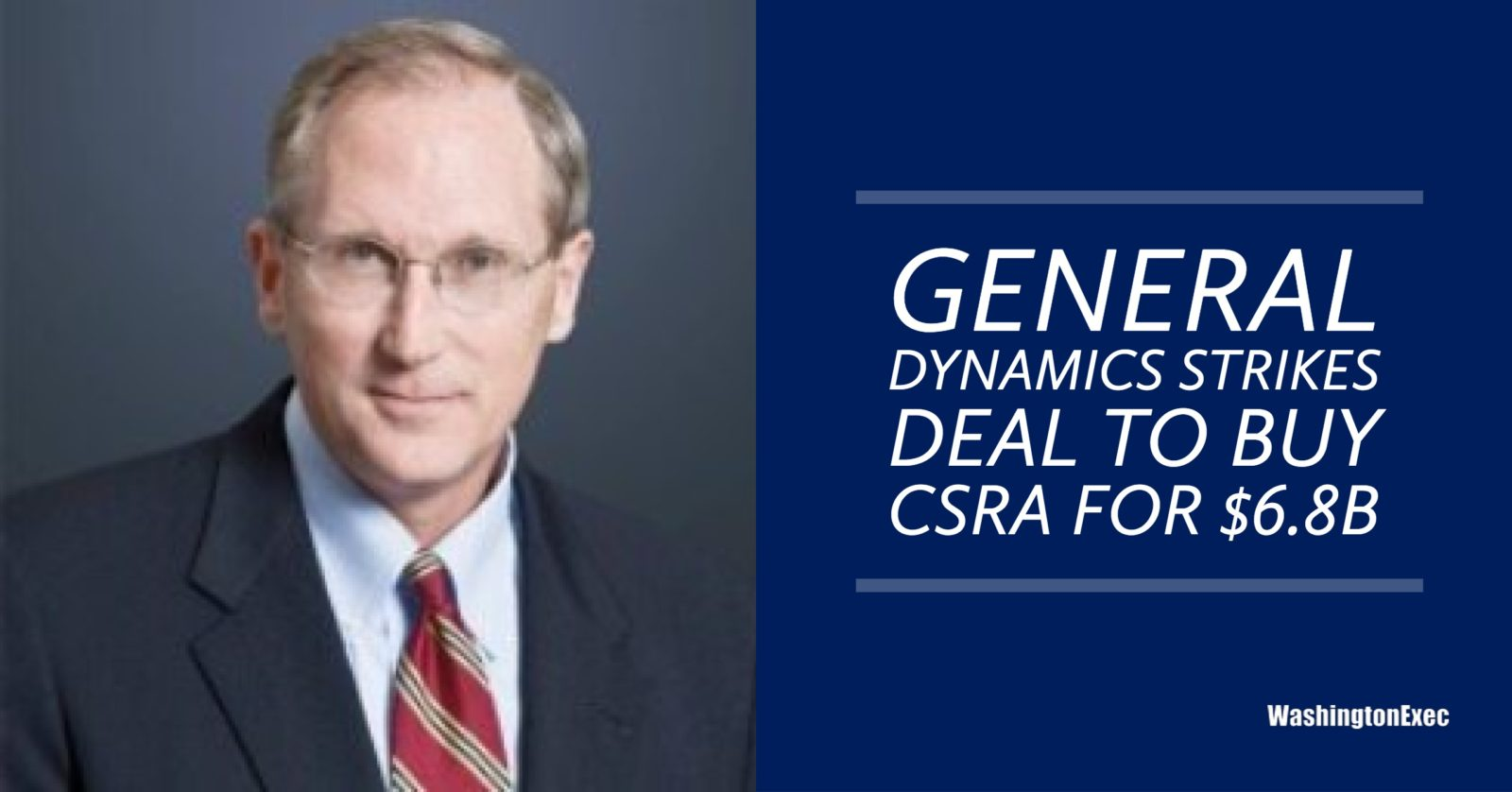 General Dynamics Strikes Deal to Buy CSRA for $6 8B