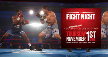 The Fight Night gala, which raises money for at-risk children throughout the Washington, D.C., area is set for Nov. 1.