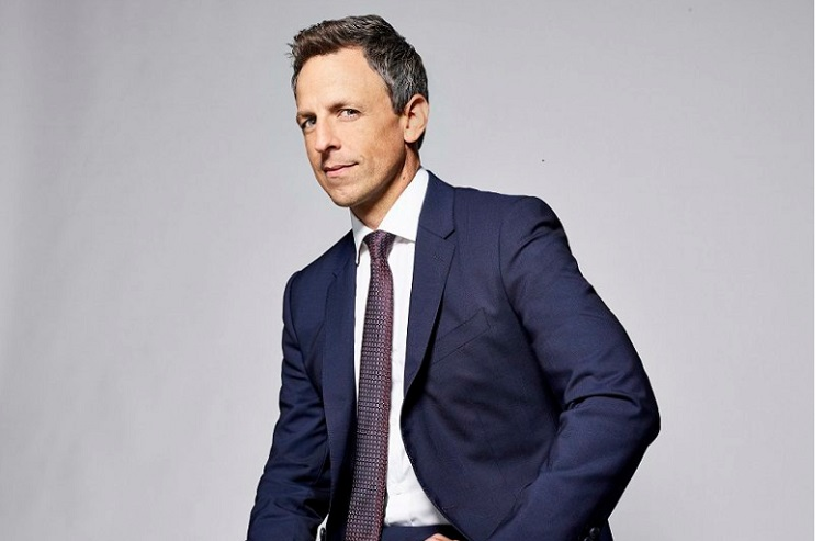 """Late Night"" host Seth Myers. Photo: Lloyd Bishop/NBC"