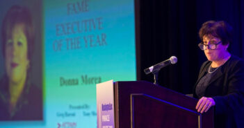 Donna Morea at the WashingtonExec Pinnacle Awards on Nov. 1, 2018.