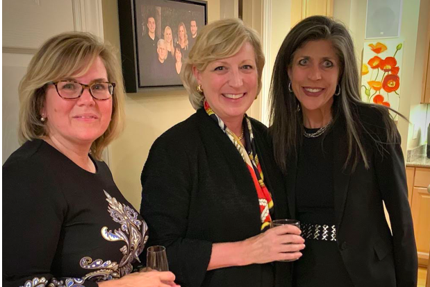 The B2B Project CEO Jane-Scott Cantus (middle) with Guidehouse CFO and B2B Member Debbie Ricci and Baird Managing Director, B2B Member and Founding Sponsor Jean Stack.
