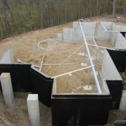 Basement Walkout Excavation - Pre backfill