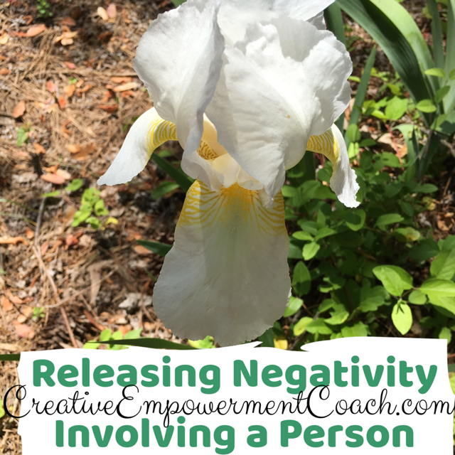 Releasing Negativity Involving a Person Guided Meditation: Podcast 15
