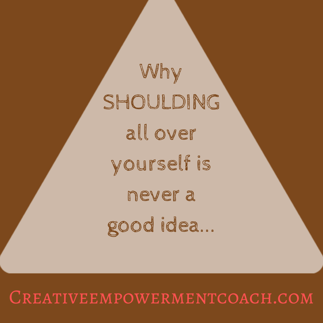 Stop SHOULDING All Over Yourself: Podcast 23