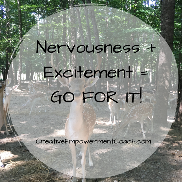 Excited Nervousness: Podcast 45