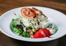 iceberg salad rimrock cafe whistler