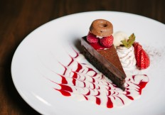 chocolate cake rimrock cafe whistler