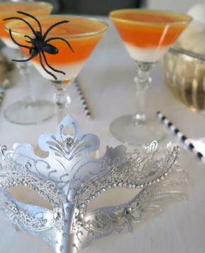 Jello Shot Martini's & Halloween Bling
