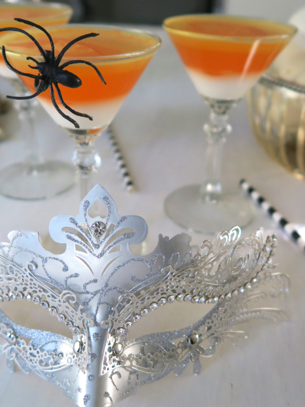 Jello Shot Martini's & Halloween Bling