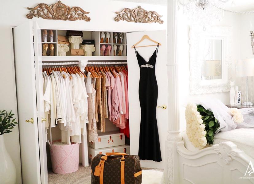 diy Closet Ideas Wardrobe Organization Tour