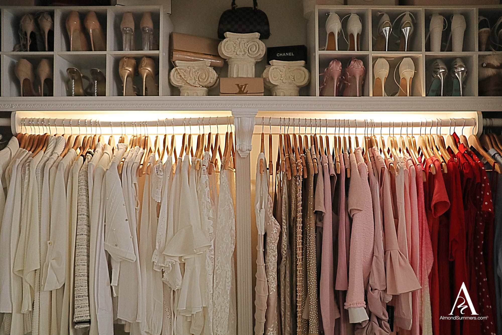 Closet Lighting Ideas Closet Decorating Ideas | How To Decorate Your Closet | DIY Closet Organization | Organizing a Small Closet | DIY Closet Shelves Small closet organization ideas