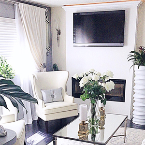 Shop Almond Summers Living Room