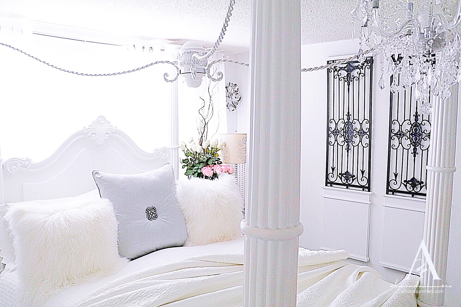 Bedroom Decorating Ideas | French Bedroom Decorating Ideas | Vintage Bedroom Decor | French bedroom decor