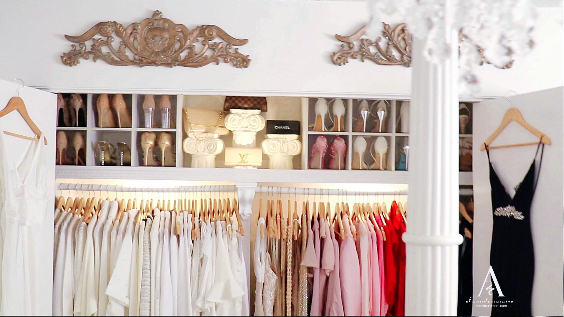 Closet Decorating Ideas | How To Decorate Your Closet | DIY Closet Organization | Organizing a Small Closet | Small closet organization ideas