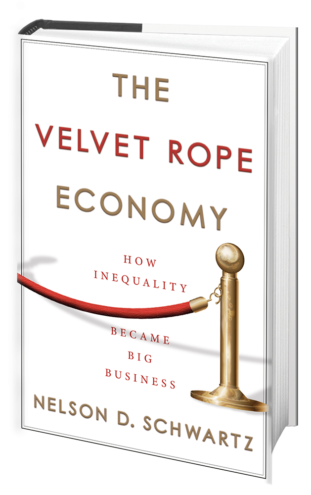 The Velvet Rope Economy 3d Book Shot