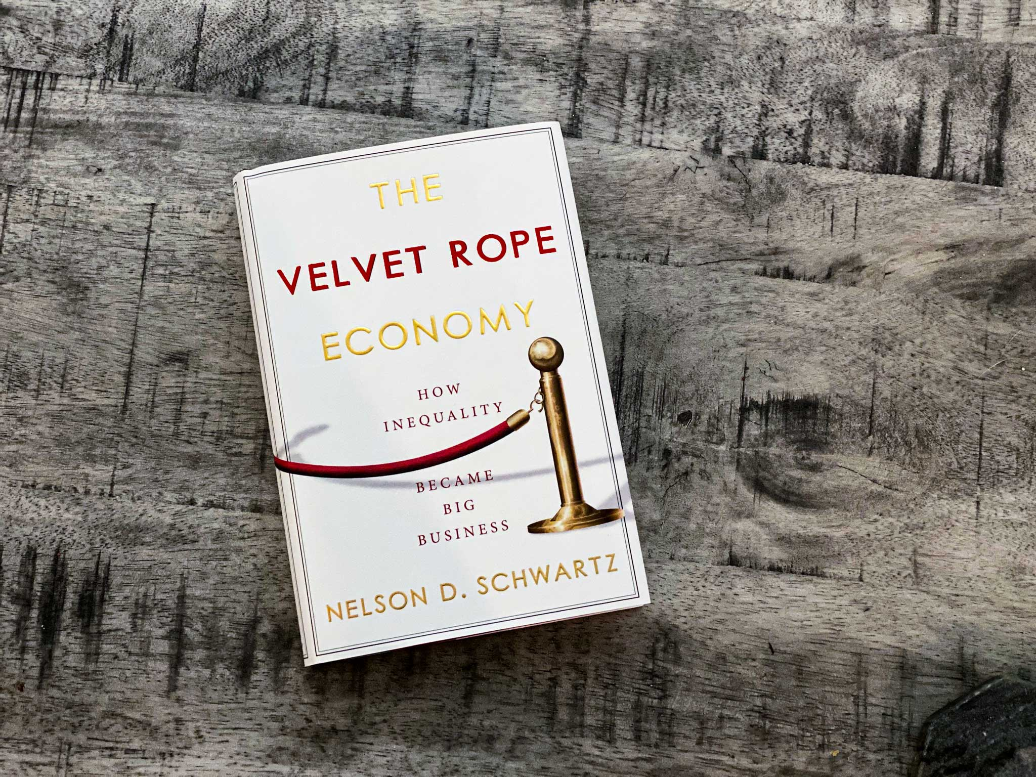The Velvet Rope Economy - Book