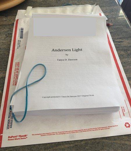 Andersen Light (Working Title) Manuscript Update