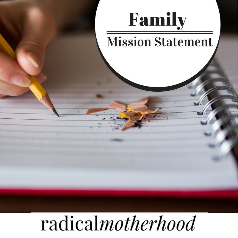 Family Mission Statement