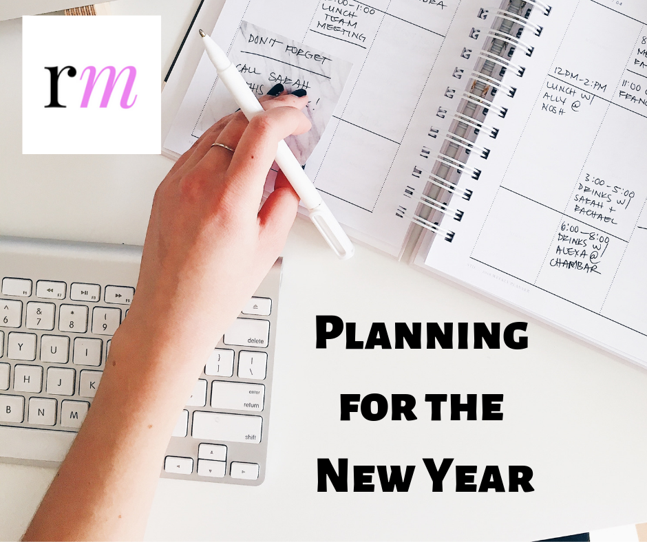 Planning for the New Year