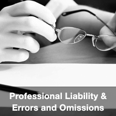 Professional Liability & Errors and Omissions