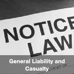 General Liability and Casualty