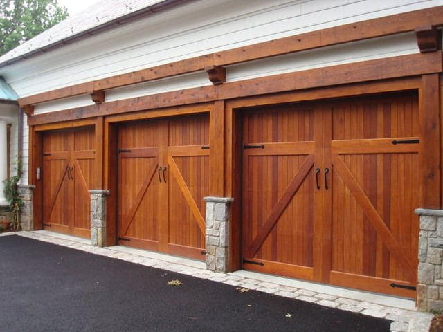 Custom Triple Garage Doors