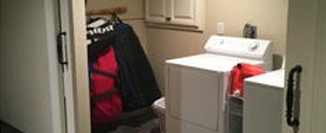 A Maintained Mudroom