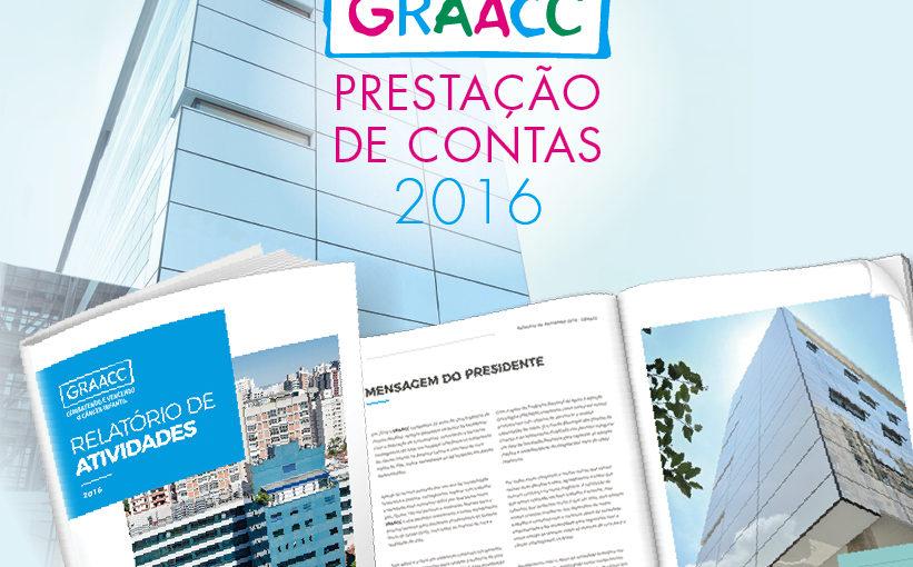 Confira os resultados de 2016 do GRAACC no nosso Relatório de Atividades
